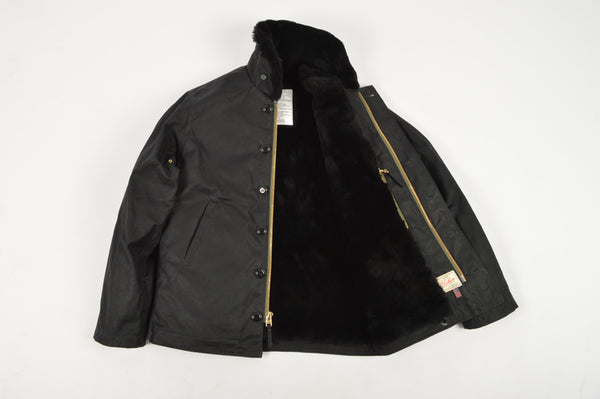 Dehen 1920 - N-1 Deck Jacket - Only M in Black left!