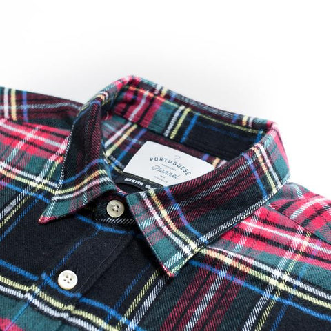 Portuguese Flannel - Chave Long Sleeve Flannel Shirt - size S only!