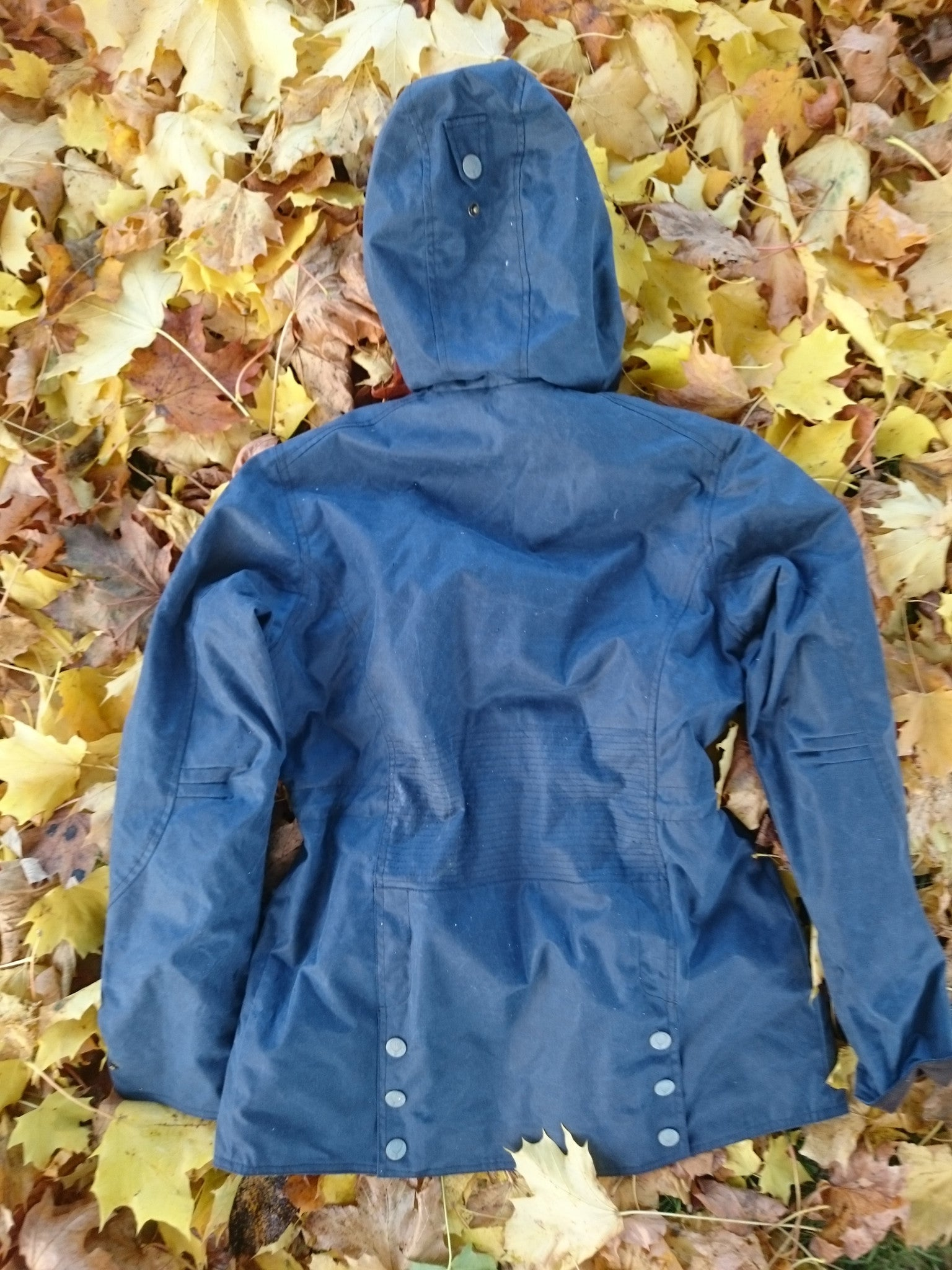 English Utopia - Isolt Wax Jacket - Navy
