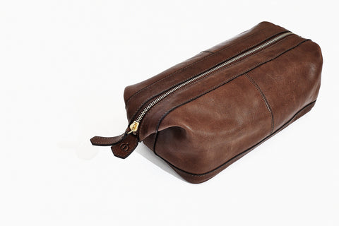 Libero Ferrero - Leather Dopp Kit