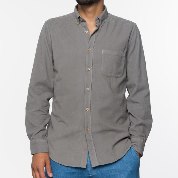 Portuguese Flannel - GREY LOBO - size L sold out!