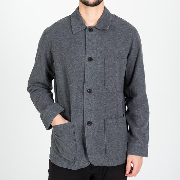 Portuguese Flannel - Pinheiro - CHORE JACKET - denim colorway sold out!