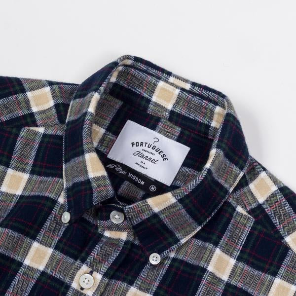 Portuguese Flannel - RIVER - size M only!