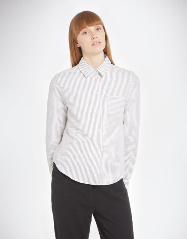 YMC - Linen Stripe Shirt
