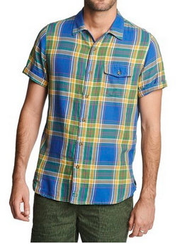 Woolrich - Dobby Plaid Shirt
