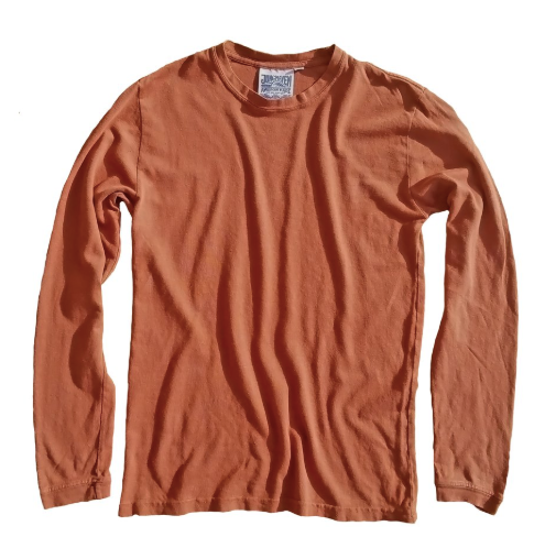 Jungmaven - TERRACOTTA BAJA LONG SLEEVE TEE