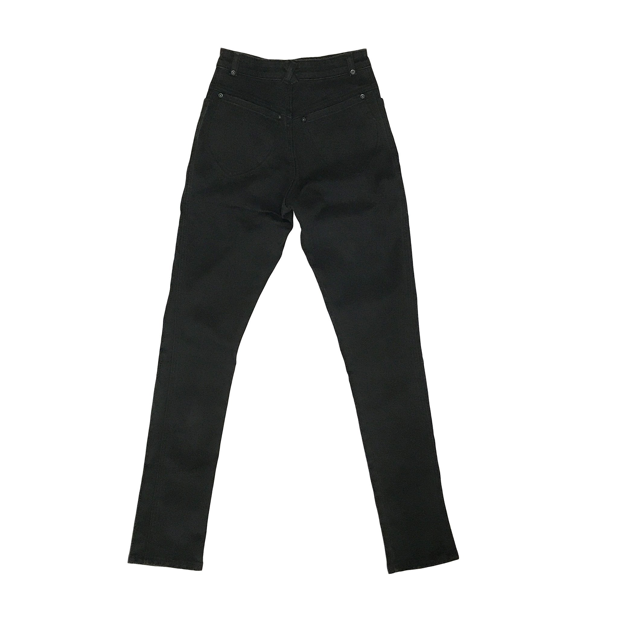 Judi Rosen New York • High Waisted Skinny Stretch Women's Jeans - Black