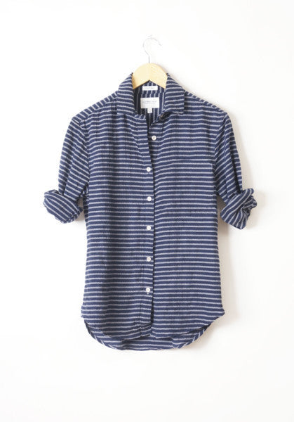 California Tailor - Shirt No.1 - size L only in Salt Point Stripe!