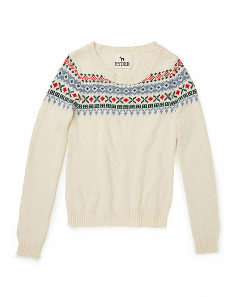 Ryder - Fairisle Jumper - size L only!