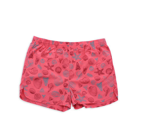 M. CARTER CO. - Shells Swim Trunks - Shells/Salmon - size XL only!