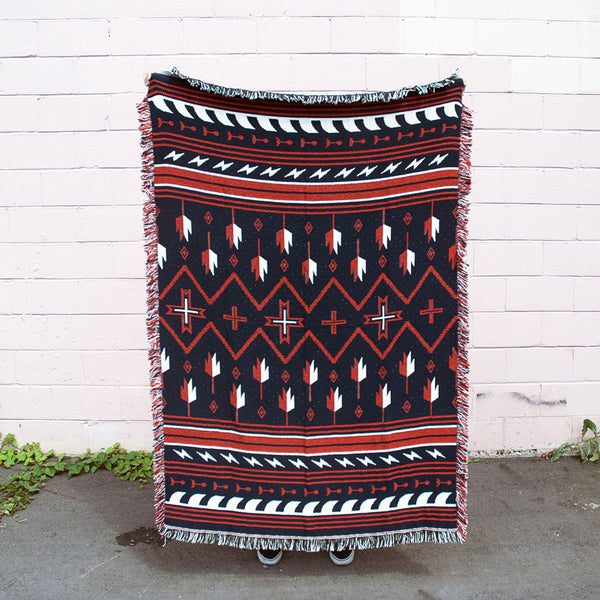 Forest & Waves - Topanga Blanket - 1 left!