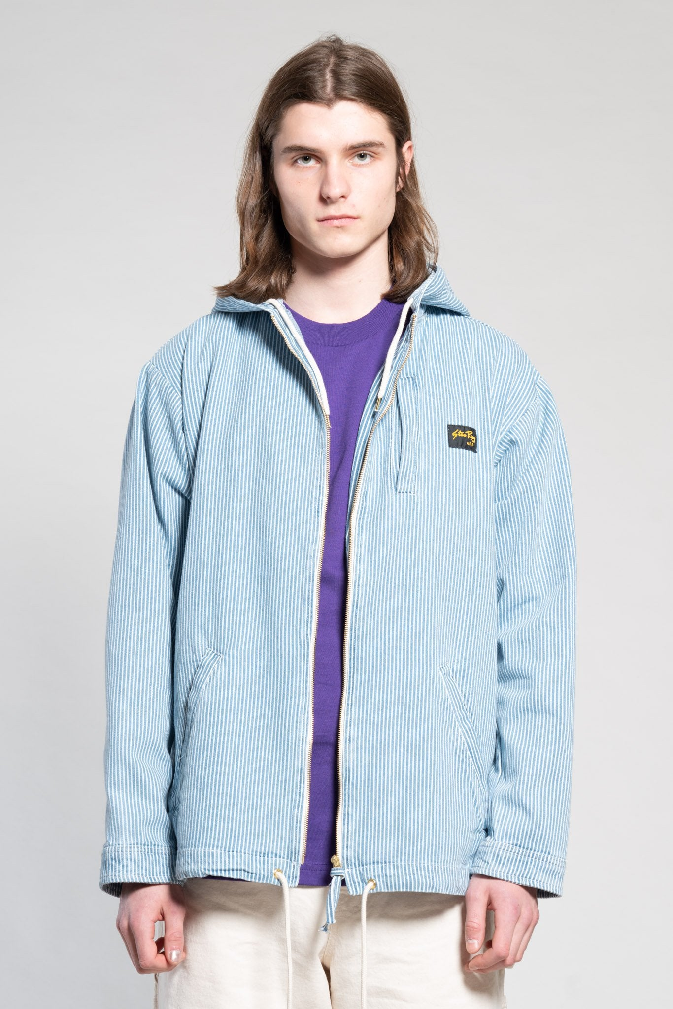 Stan Ray - HOODED SHOP JACKET