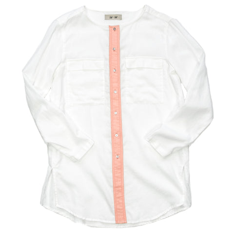 Lbt Lbt - Caution Button Down
