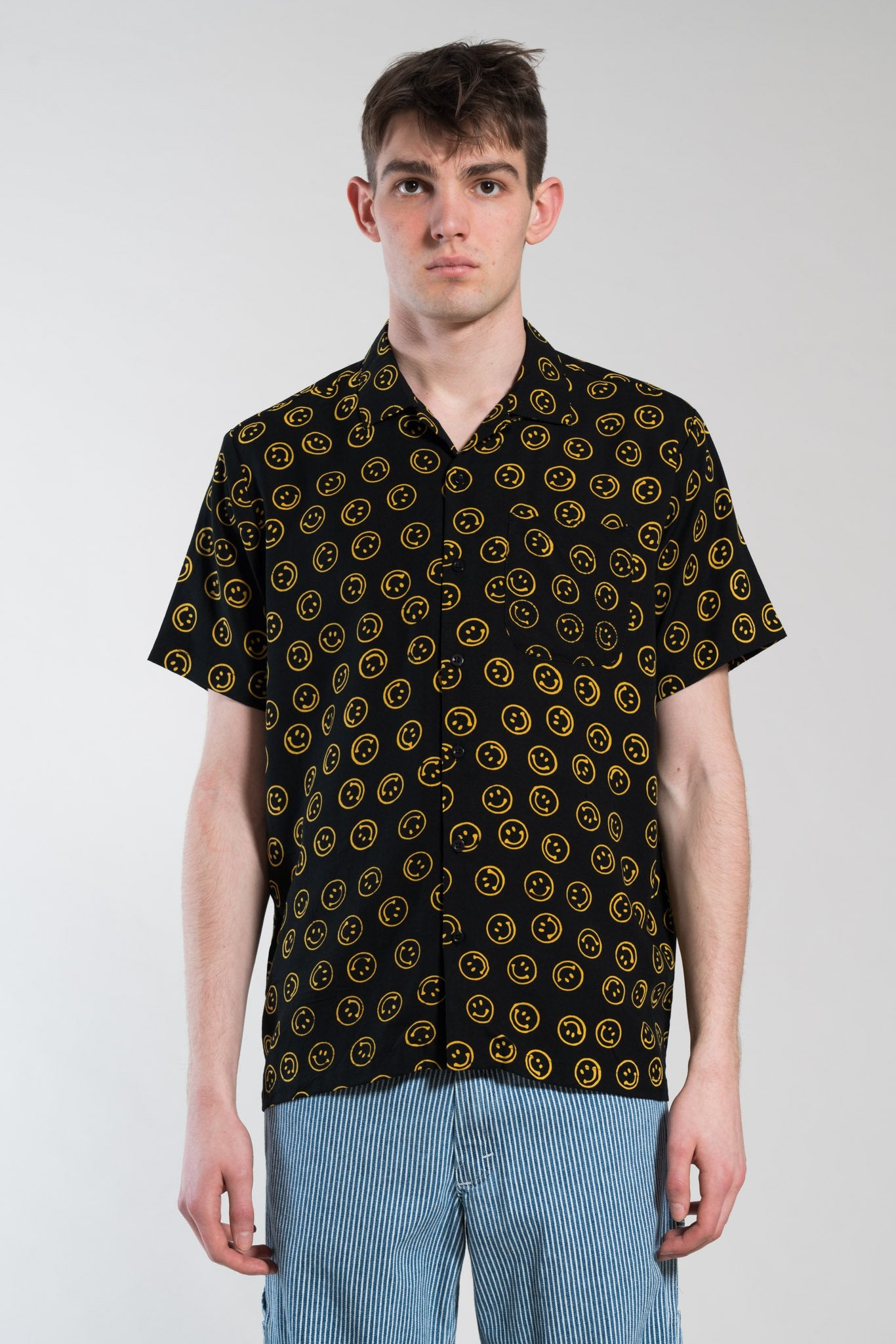 Stan Ray - SMILEY BATIK SHIRT - size S + L sold out!