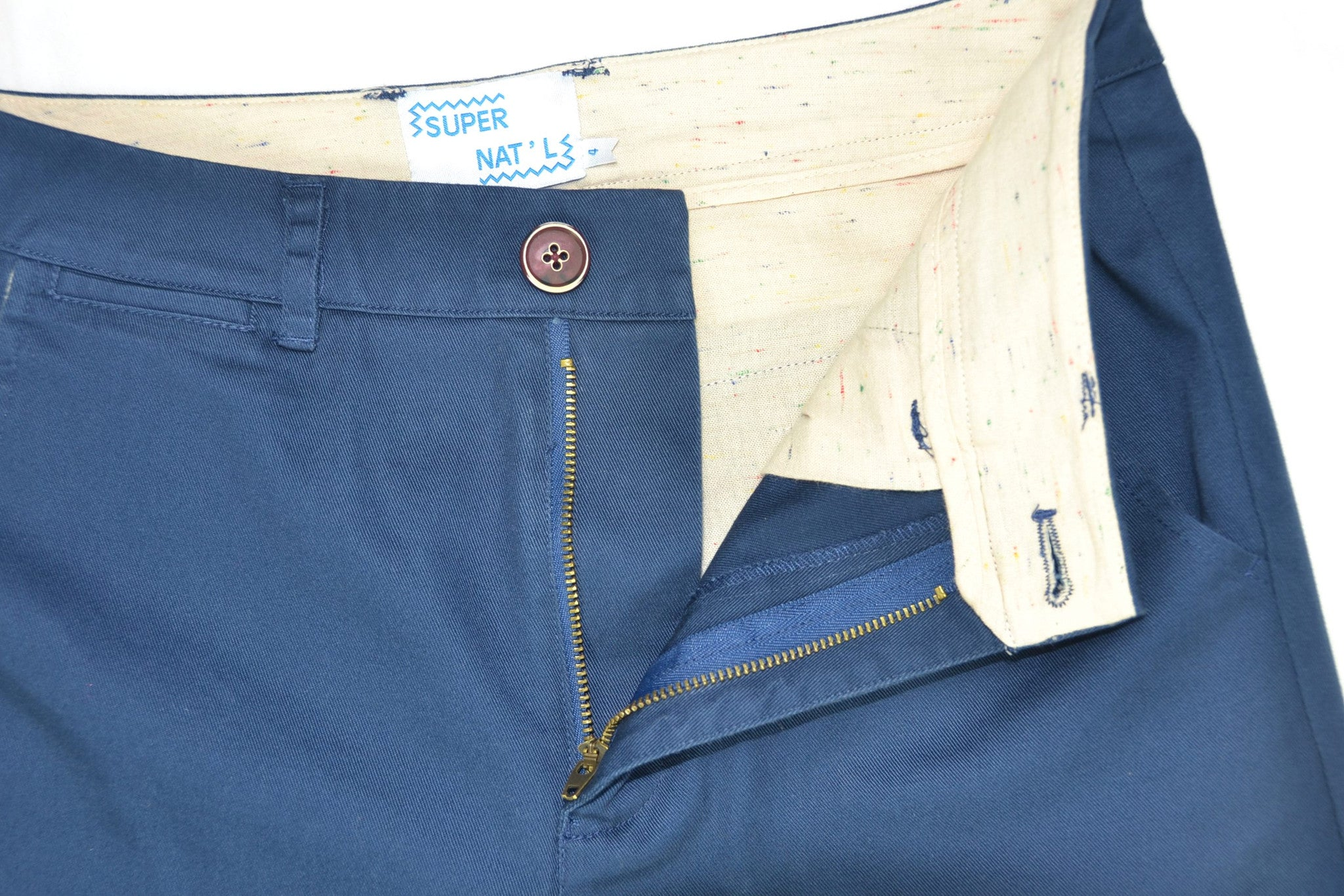 Supernat'l - Washed Twill Slouch Pant / Blue - size large only!