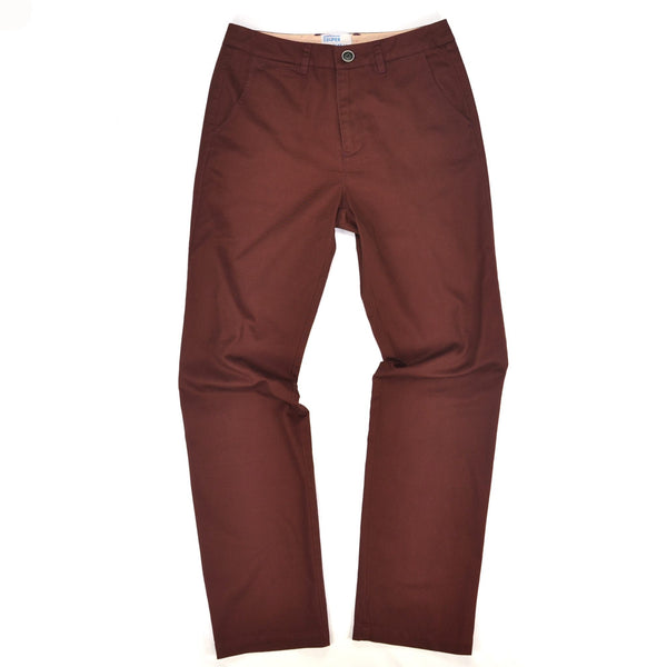 Supernat'l - Washed Twill Slouch Pant / Red - size 6 only!