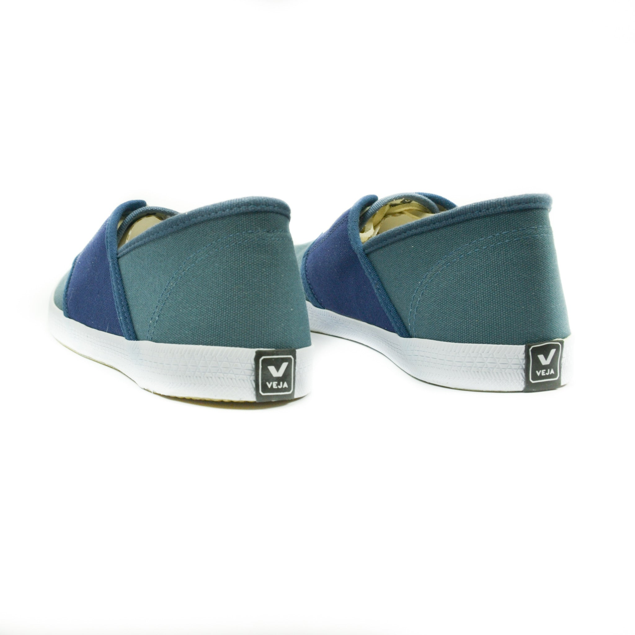 Veja - Mediteranee Canvas Sneakers in California Marine - size 8 only!