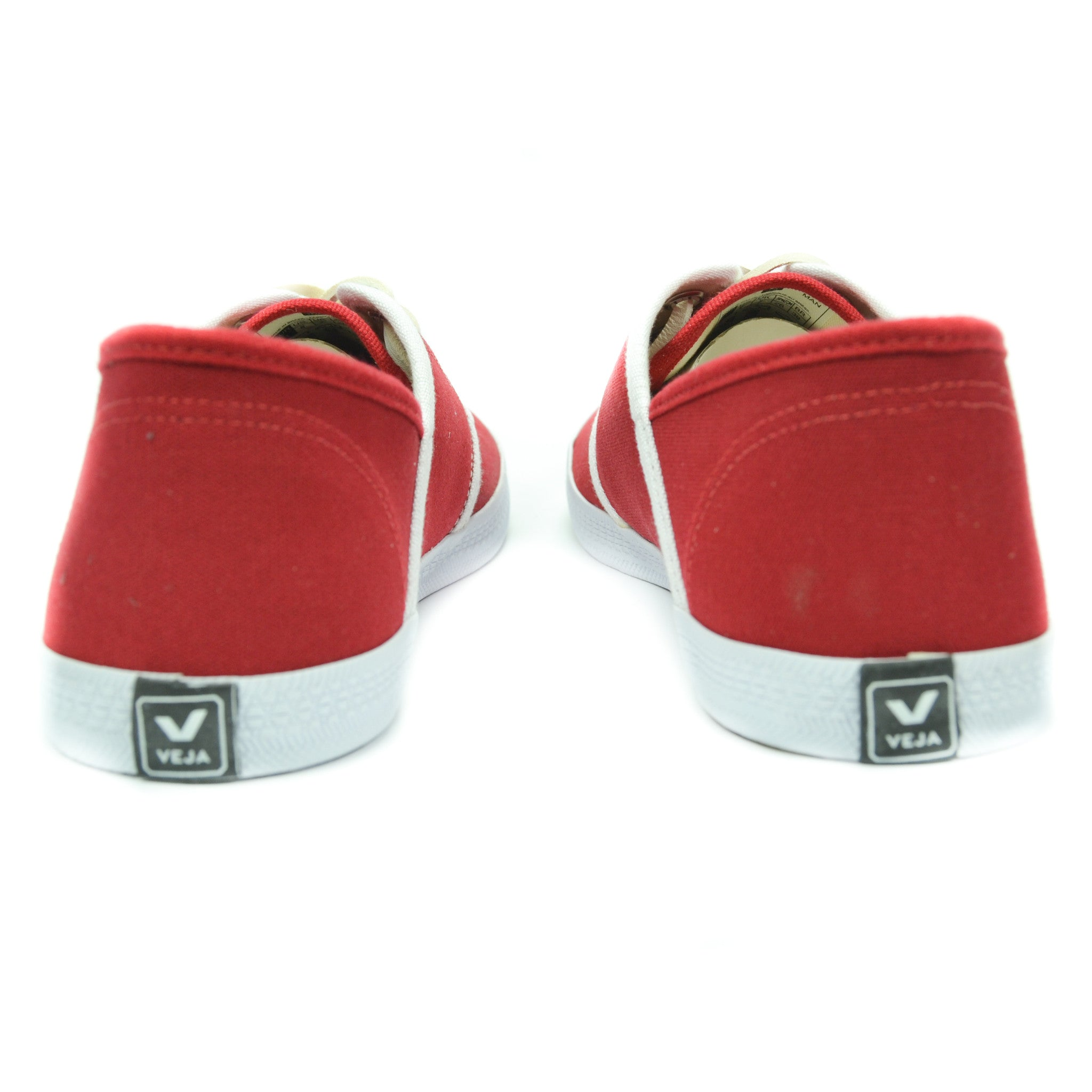 Veja - Mediteranee Canvas Sneakers in London Red