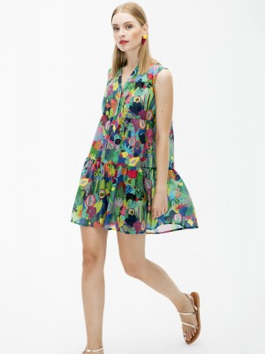 Vilagallo - VERA DRESS (KAPALUA PRINT)