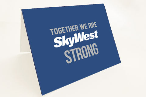 Thank You Cards (SkyWest Strong)