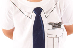 Youth T-Shirt Future Flight Attendant (Male) -