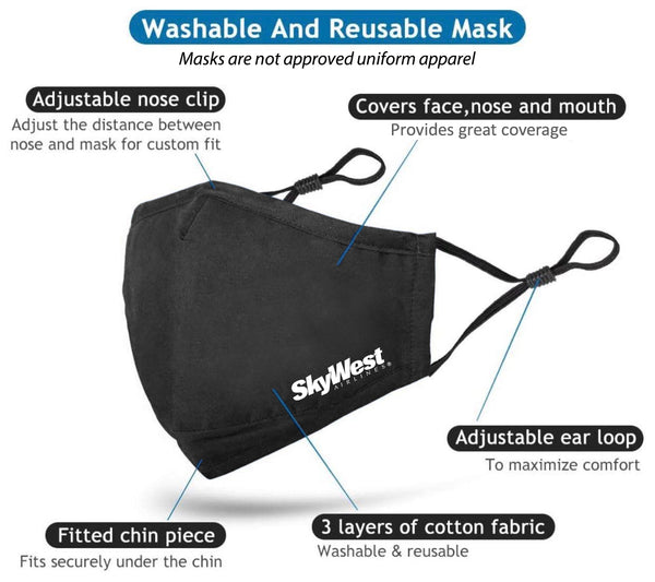 SkyWest Mask