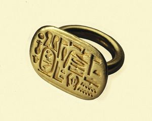 Signet Ring Egypt BCE