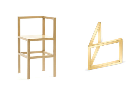 Donald Judd Chair, Judd Ring from Carrie Hoffman