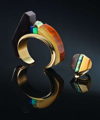 charles loloma cuff and ring