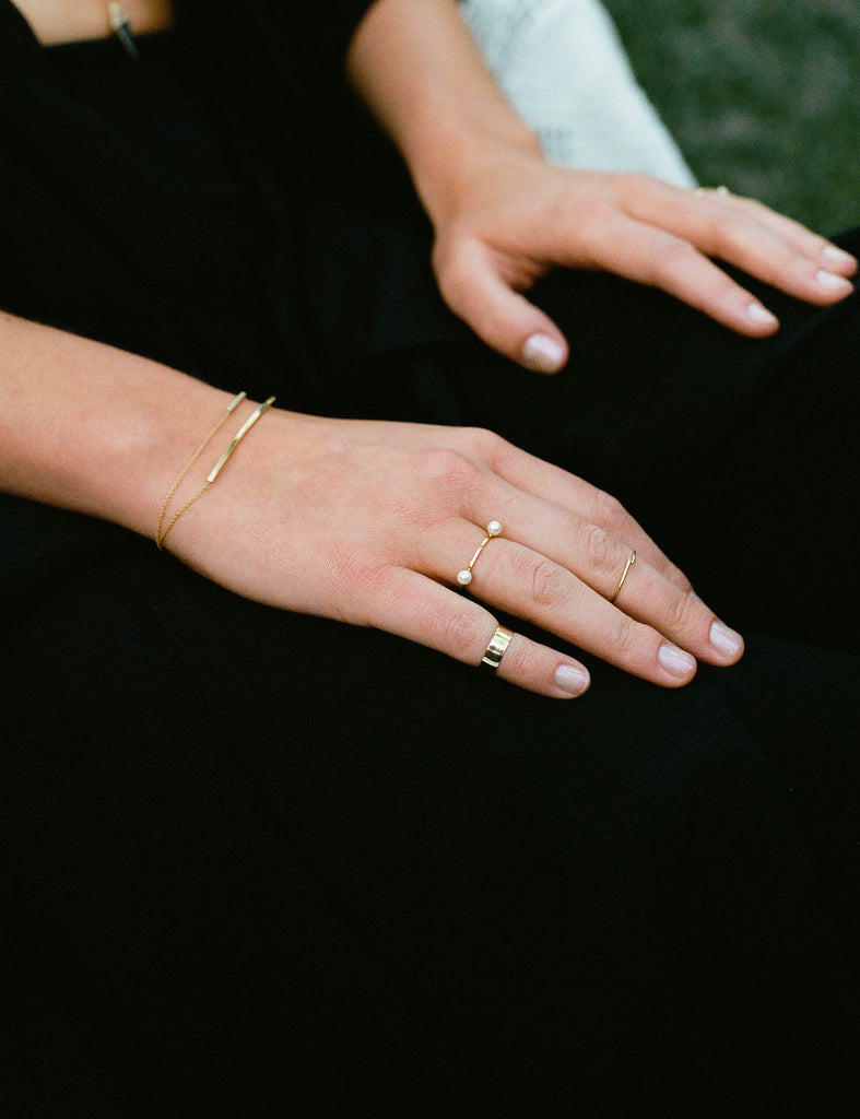 Carrie Hoffman Jewelry | Double Sphere Ring