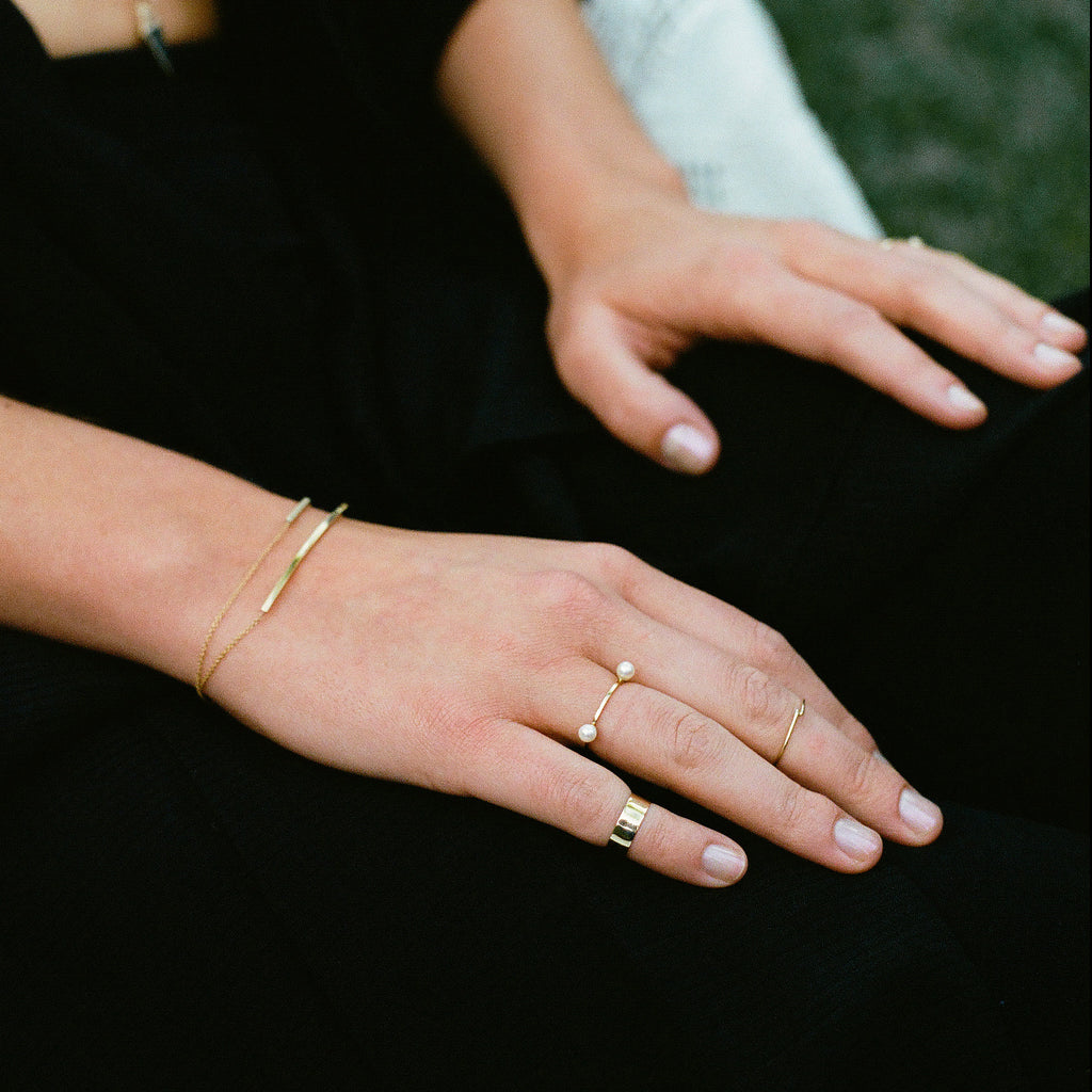 Carrie Hoffman Jewelry | Micro Twist Ring