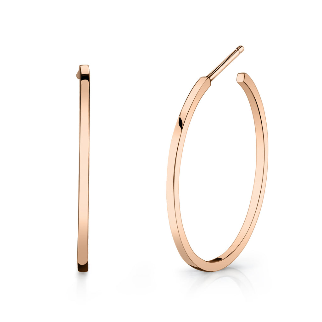 Carrie Hoffman Jewelry l Square Wire Hoop