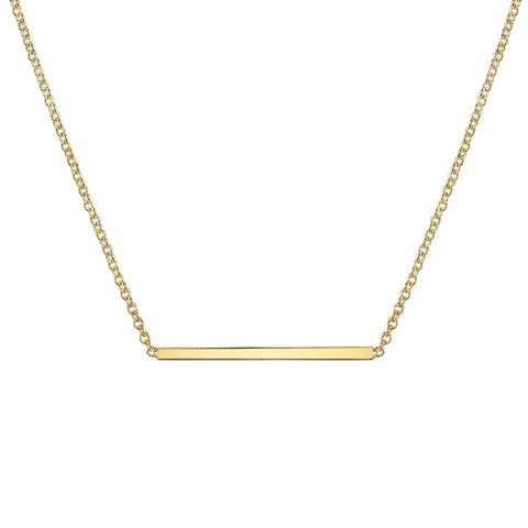 Carrie Hoffman Jewelry l Straight Bar Necklace