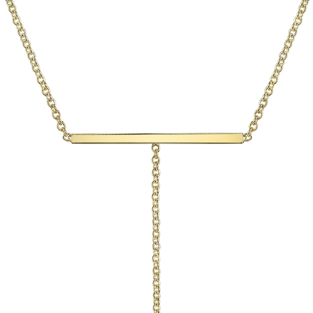 T-BAR NECKLACE©