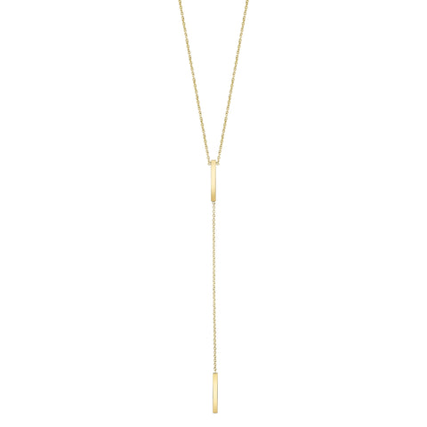 Carrie Hoffman Jewelry | Mini Y-bar Necklace