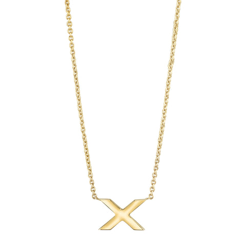 Single X Necklace