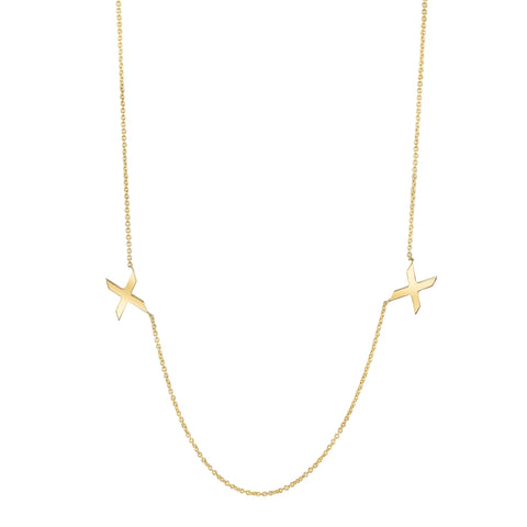 Carrie Hoffman Jewelry | Duo X Necklace