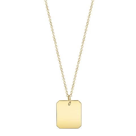 Carrie Hoffman Jewelry l Rectangle Necklace