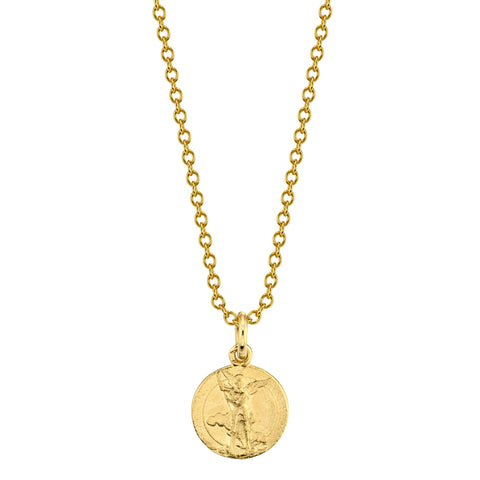 Guardian Coin Necklace