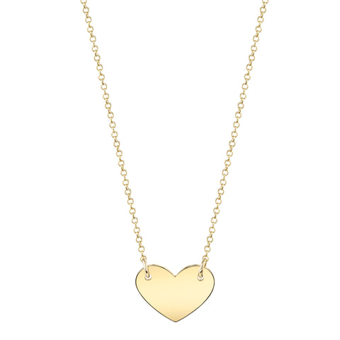 Carrie Hoffman Jewelry | Chubby Heart Necklace