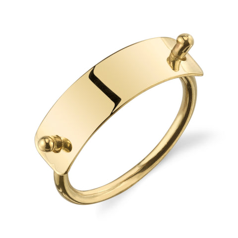 CHJ Gold Jewelry | Getty Ring