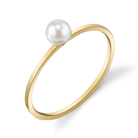 Single Sphere Ring