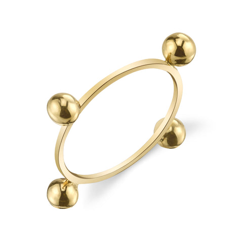 Quad Sphere Ring