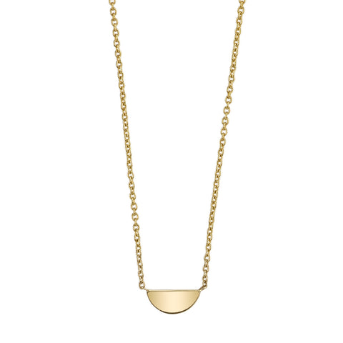Carrie Hoffman Jewelry | Half Moon Necklace