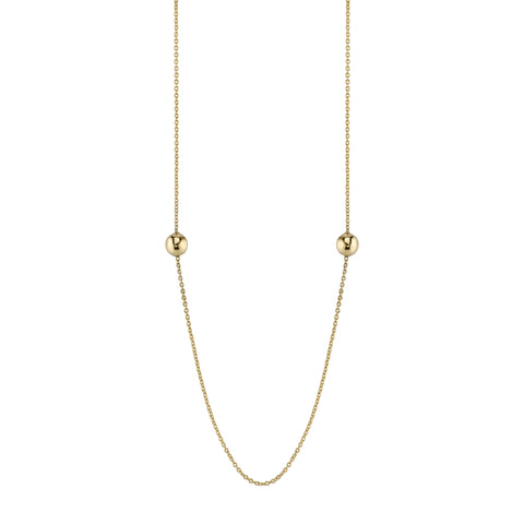 Carrie Hoffman Jewelry l Sphere Duo Necklace