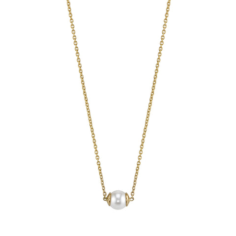 Carrie Hoffman Jewelry l Single Sphere Necklace