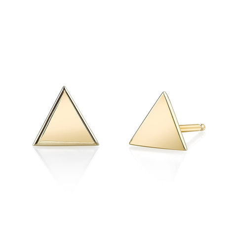 Carrie Hoffman l Triangle Studs
