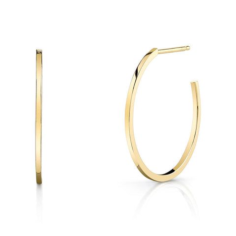 Mini Square Wire Hoops