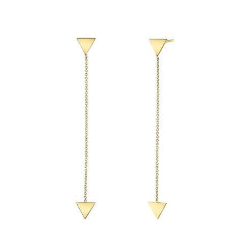 Carrie Hoffman l Triangle Drop Studs