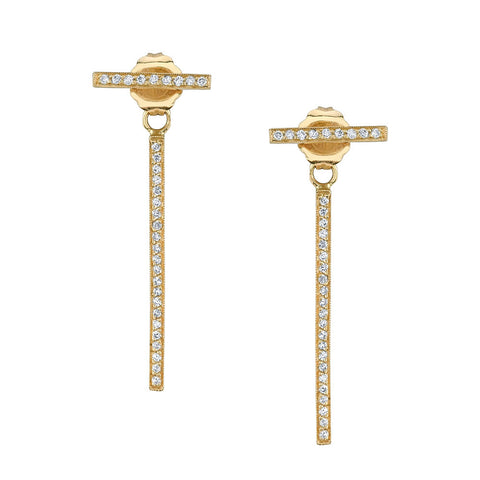Pave Bar Back Studs